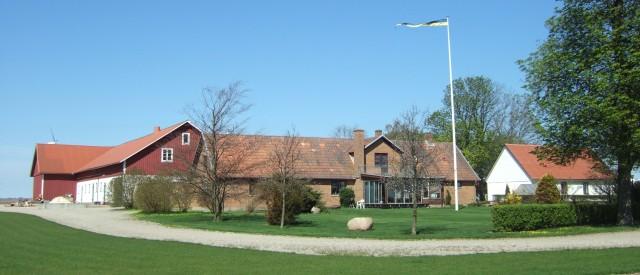 Backgården 2012. Framsida i solsken